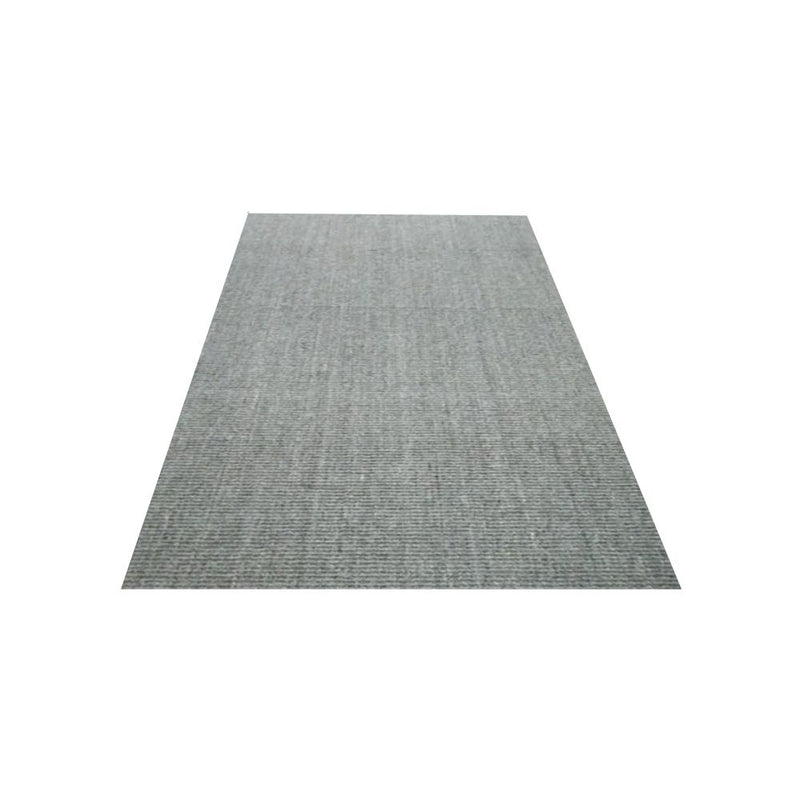 SISAL BOUCLE 1+1 DOVE GREY NATURAL LATEX BACKED SELF EDGE