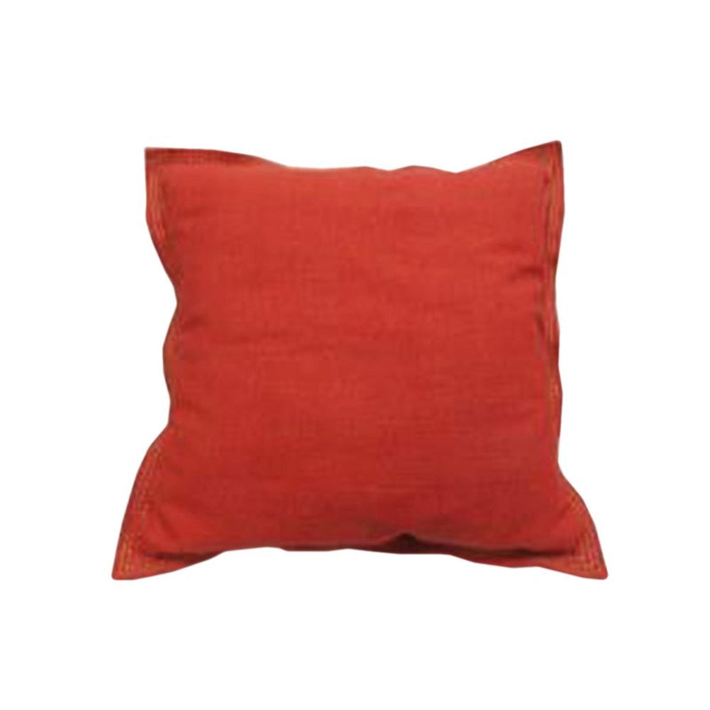 COTTON SLUB FLANGE BORDER CUSHION
