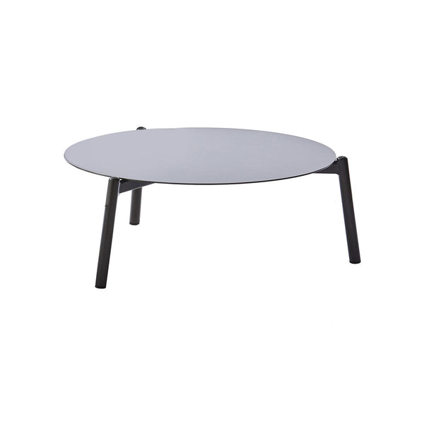 AMBIENCE COFFEE TABLE (L) FULL ALUMINUM TABLE CHAMPAGNE