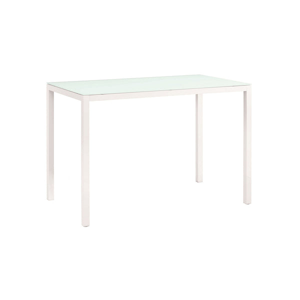 ALU GLASS BAR TABLE
