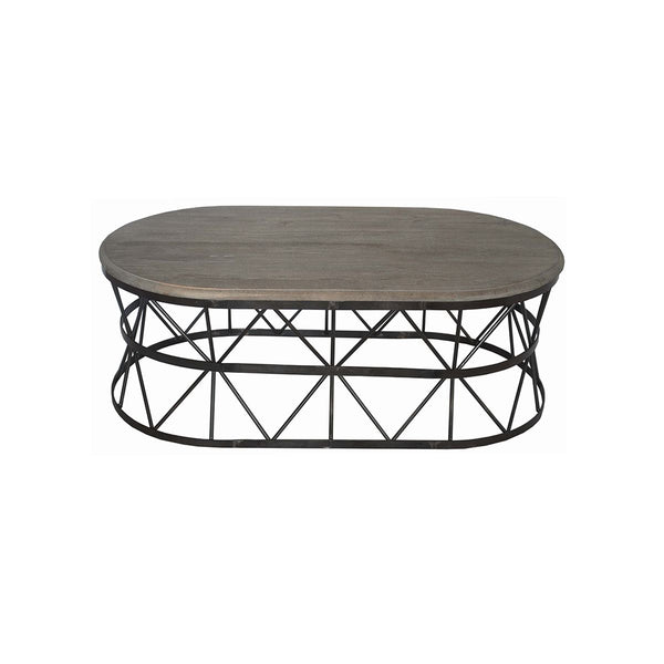 COFFEE TABLE BLACK SPECKLESS