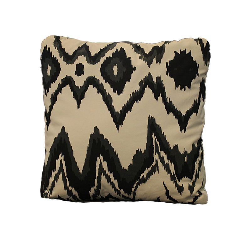 PILLOW 50X50 IKAT GRAY