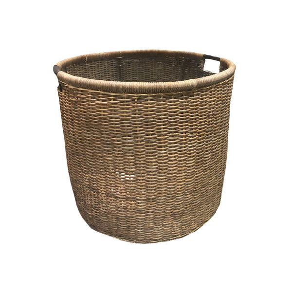 ***BASKET ROUND CROCO LARGE