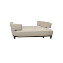 CHAISE LONGUE EN TELA COLOR BEIGE