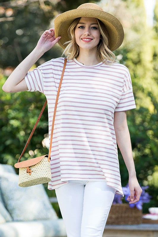NEW! Stylish Striped Tunic