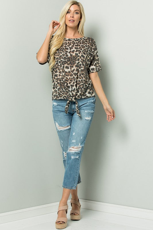 NEW! Spotted in Style Top