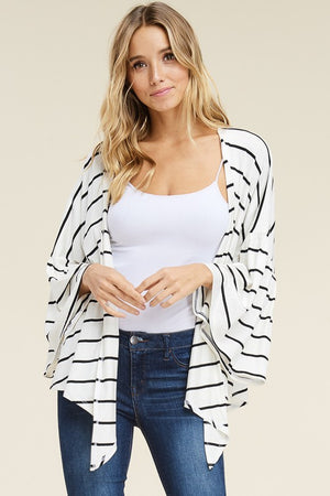 NEW! Darling Drape Cardigan