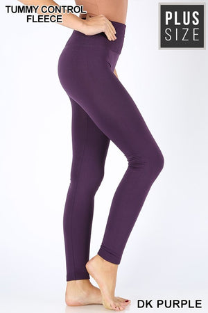 Tummy Control Fleece Leggings