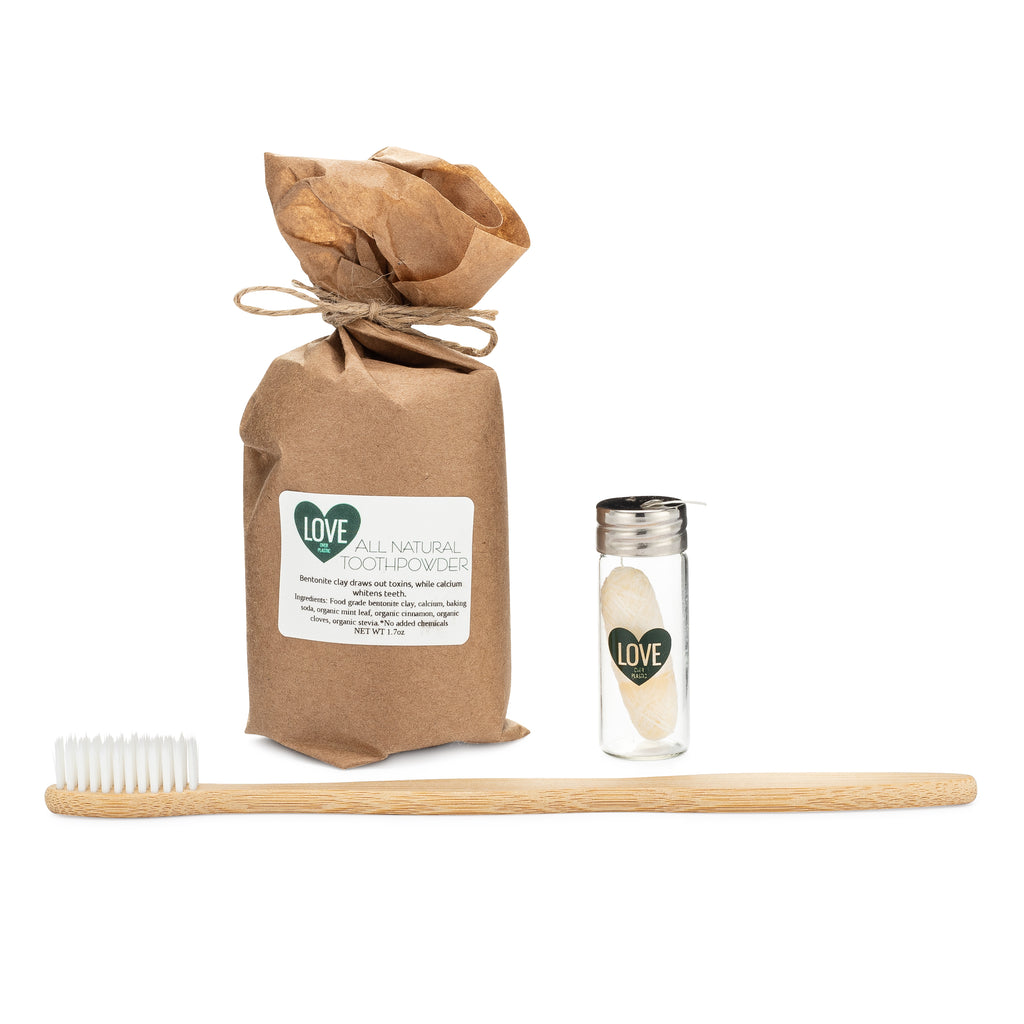 Zero Waste Vegan Dental Kit- mini