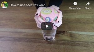 How to use beeswax wrap