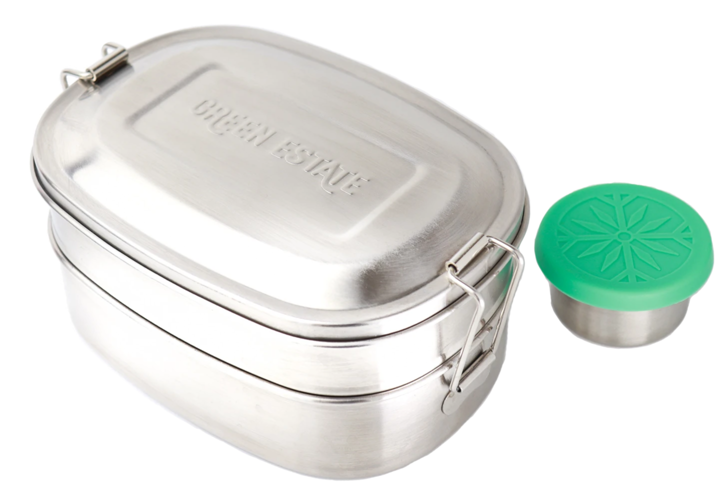 Stainless Steel Bento Box + Sauce Container