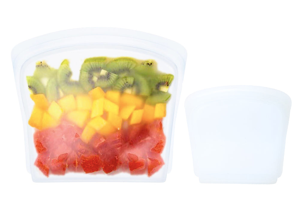 Clear Silicone Bag Bundle: Small + Medium