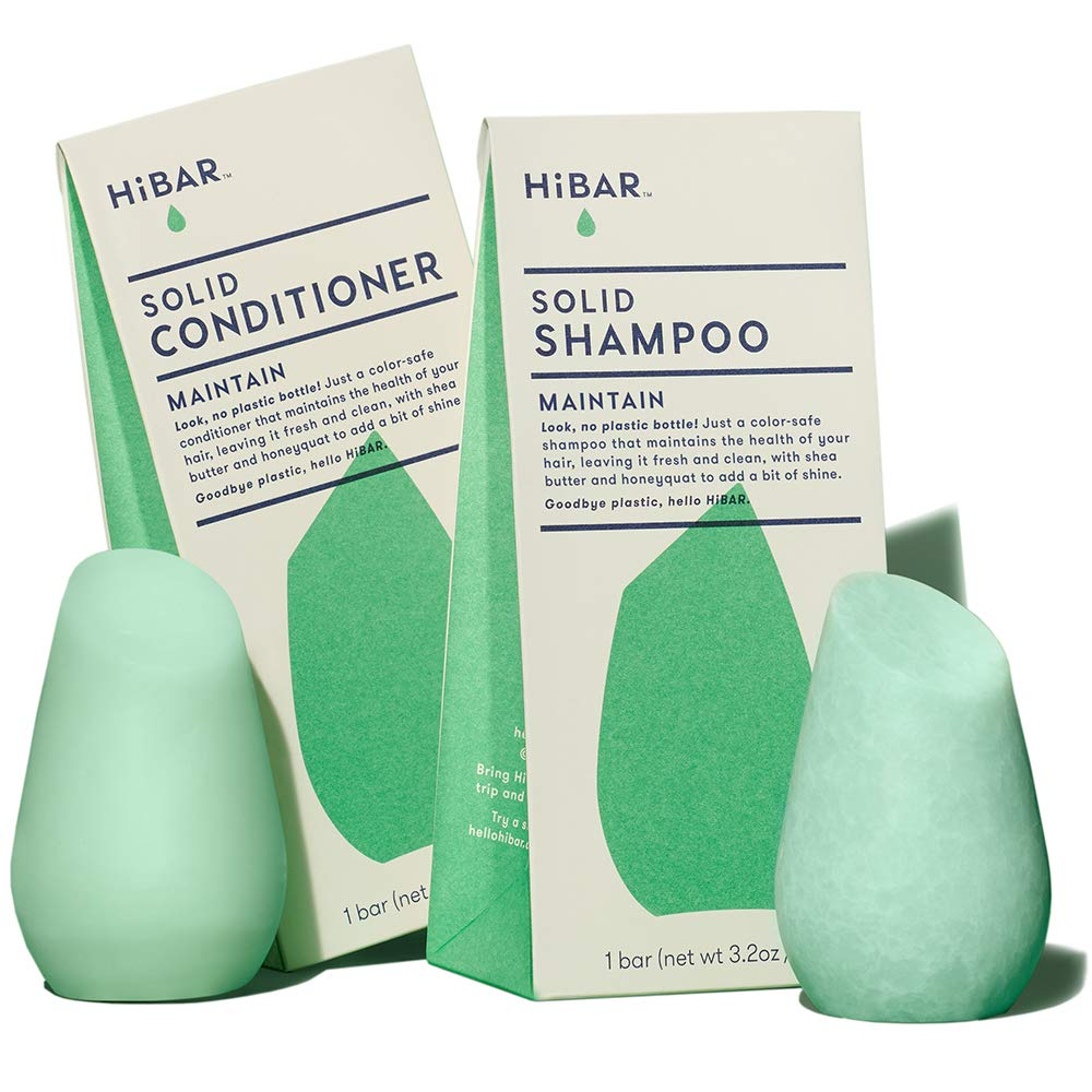 HiBar Maintain Shampoo + Conditioner Bar Set