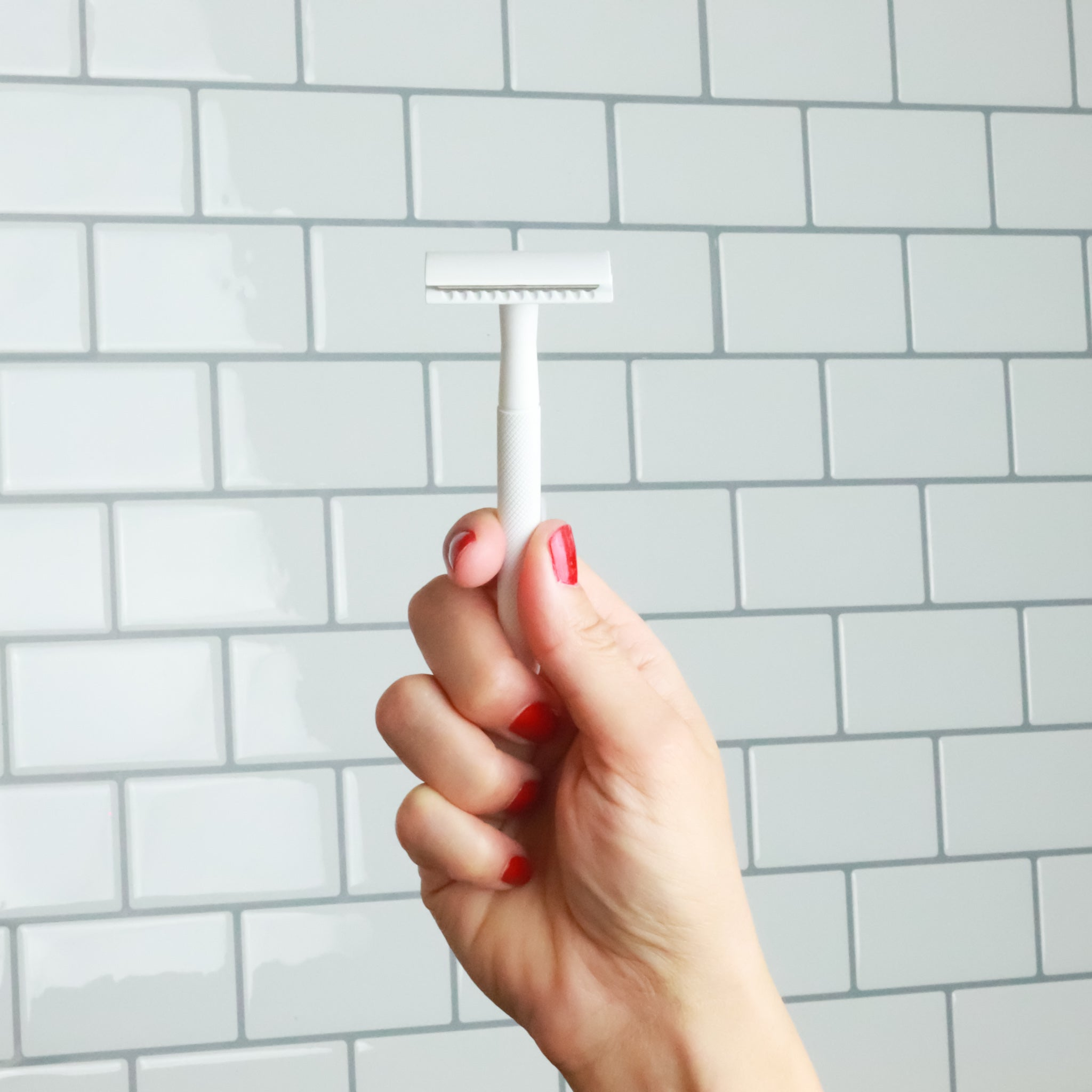 Safety Razor - White