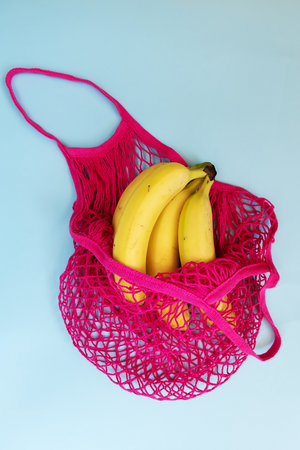 Organic Cotton String Bag - set of 4
