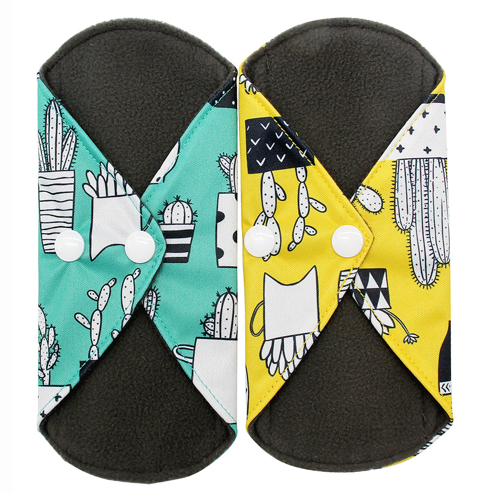 Reusable Bamboo Charcoal Pads