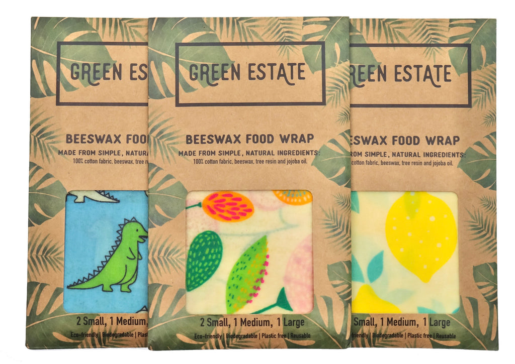Beeswax Wrap - 4 pack