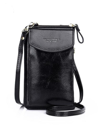 Zip Top Small Crossbody Bag
