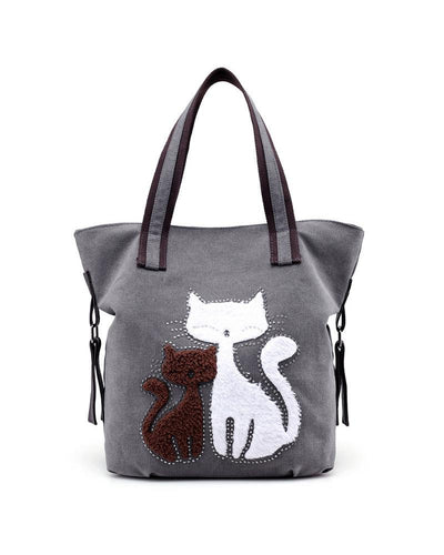 Brief Canvas Tote Shoulder Bag Handbag