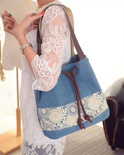 Print Dual-use Tote Shoulder Bag Handbag