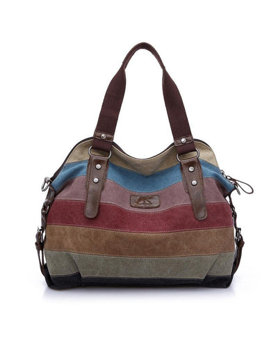 Retro Canvas Tote Diagonal Bag