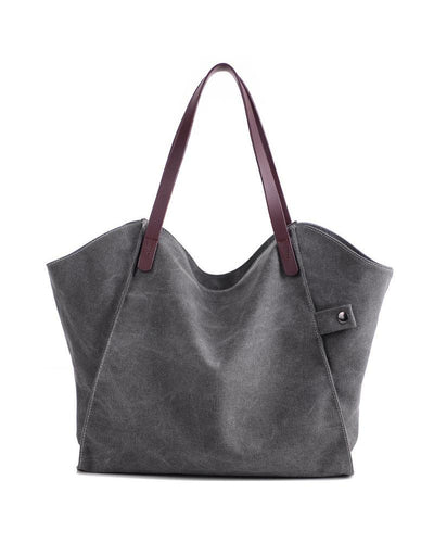 Brief Canvas Tote Bag