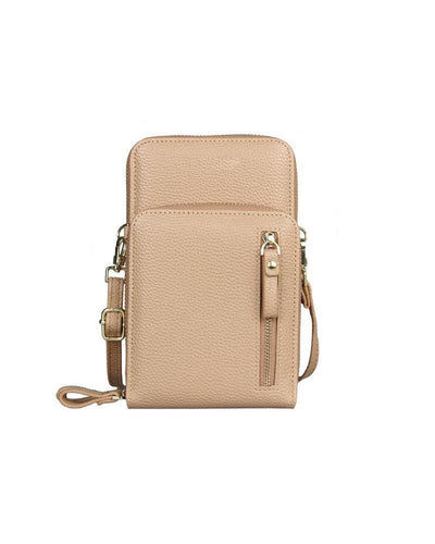 Double-Layered Crossbody Zip Bag