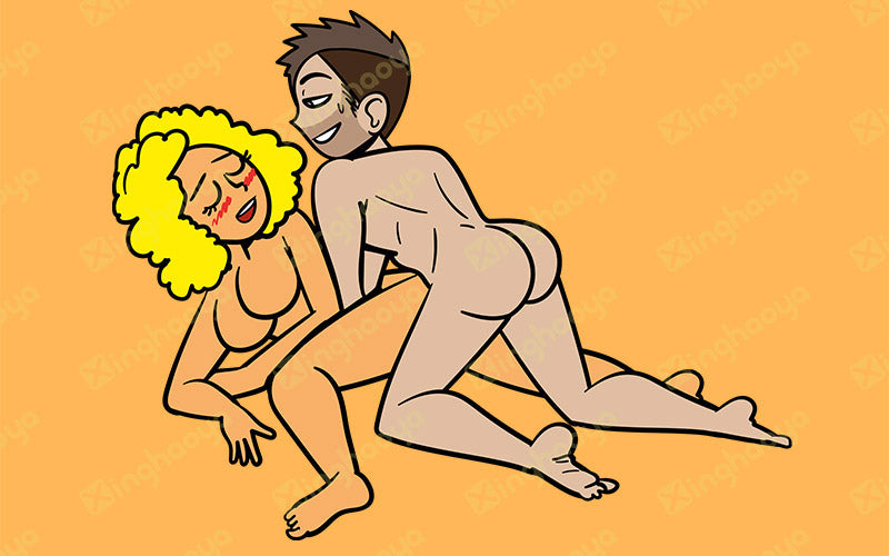 Two-pronged sex position