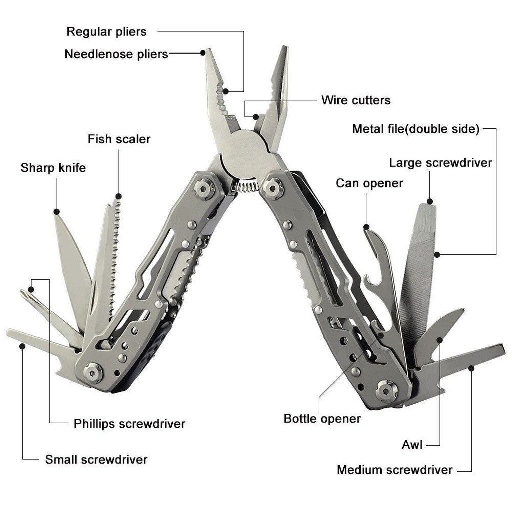 Swiss Army Knife & Pliers Multi-Tool