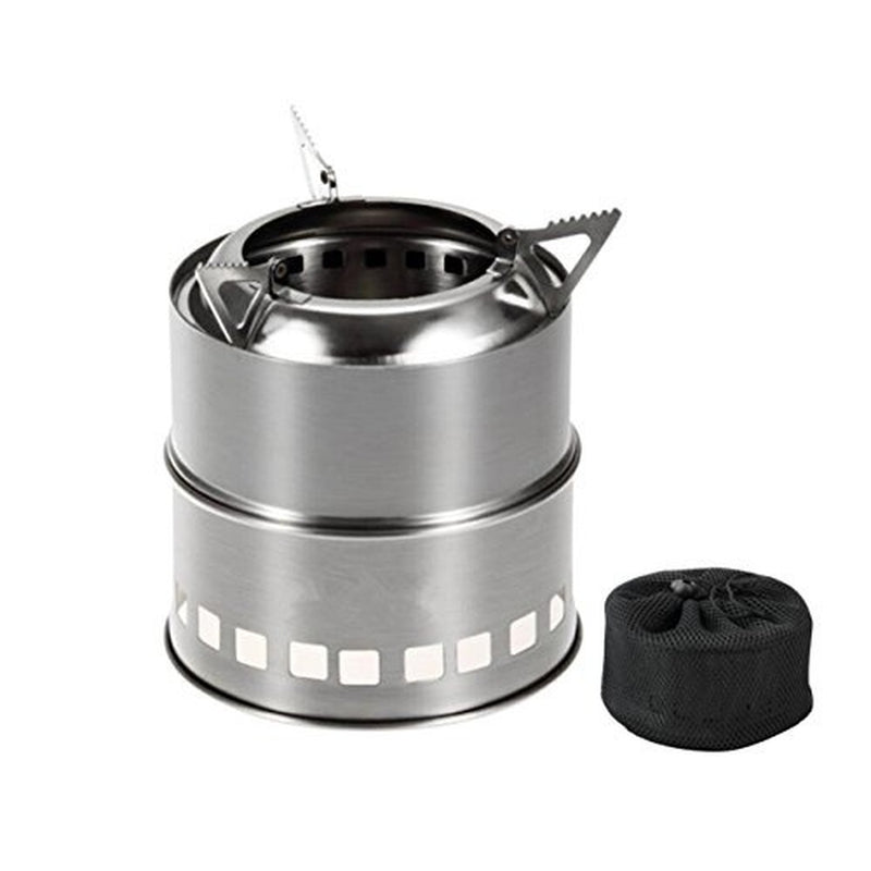 Wood Burning Stove Compact Kit