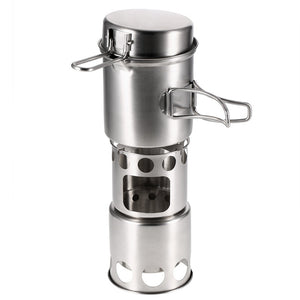 Wood Stove Cooking Pot Set