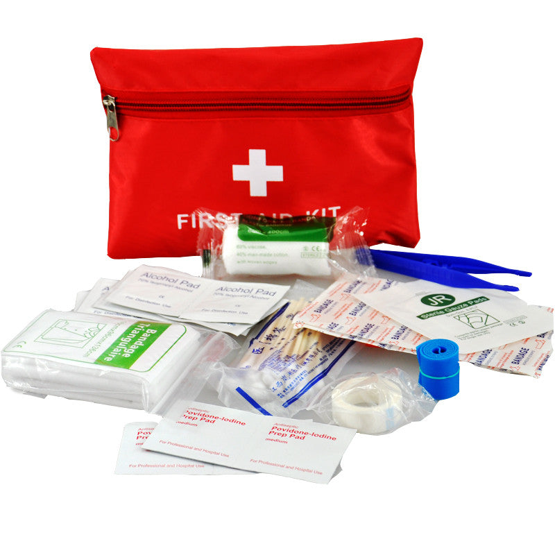 Waterproof Travelers First Aid Kit