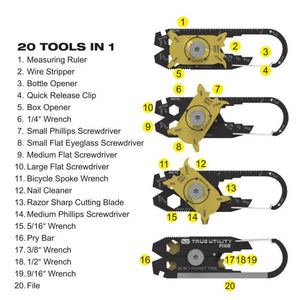 Utility 20 in 1 Camping Multi-Tool