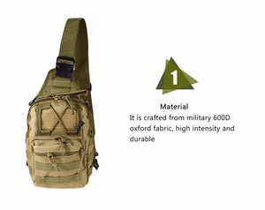 Tactical Sling-Over Style Bag