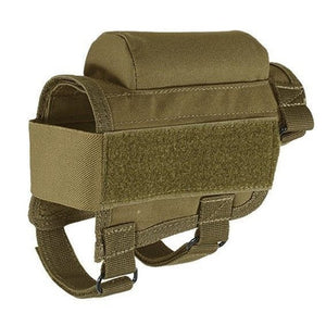 Rifle Cheek Rest Riser Pad With Ammo Holder