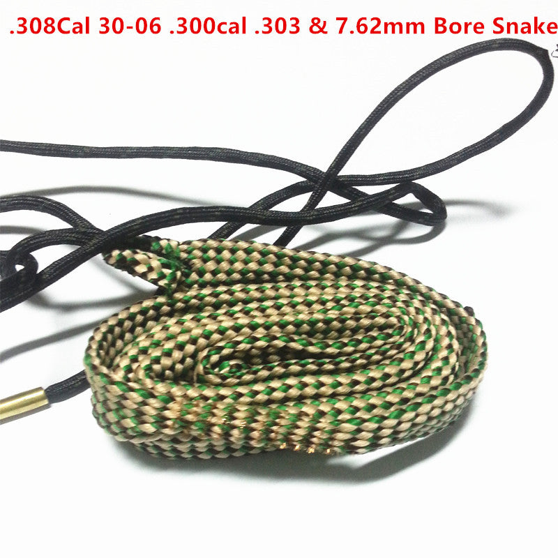 Bore Snake .30/.308/.300/.303 & 7.62mm Caliber Rifles