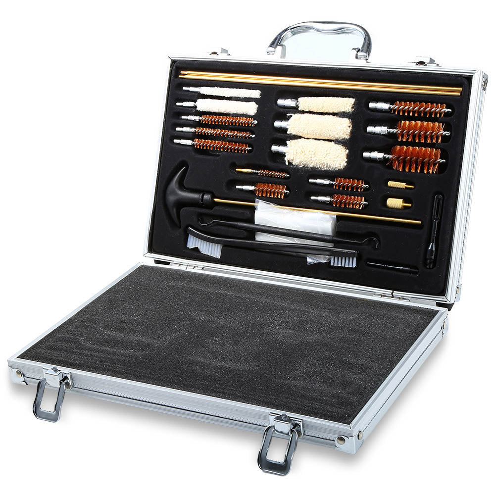 Universal Gun Cleaning Kit For Rifle Pistol and Shotguns