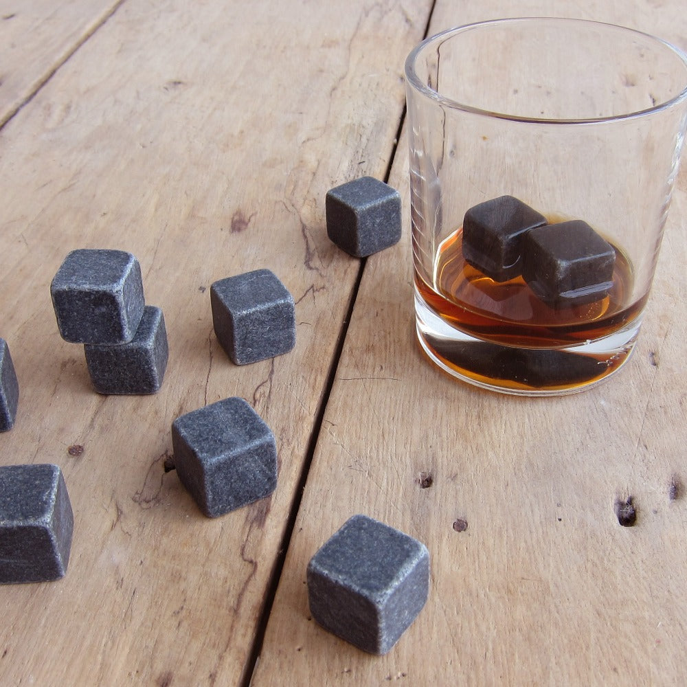 100% All Natural Whiskey Stones