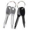 Stainless Steel Key Ring Screwdriver Set