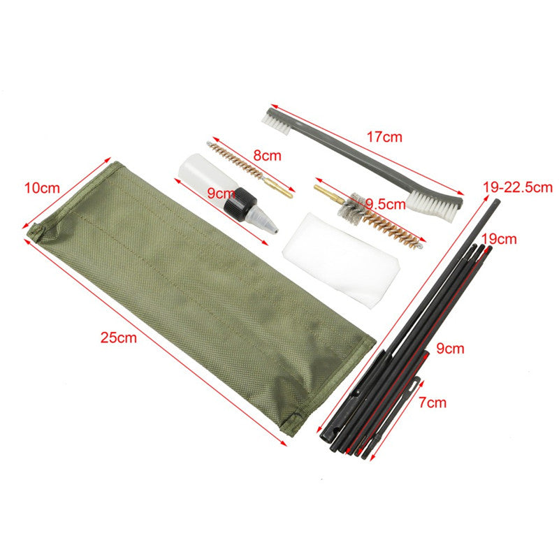 10 Piece Rifle Cleaning Kit