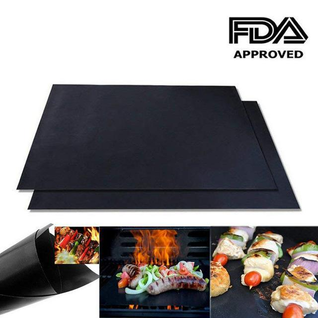Non-Stick Grill Mats (2 Pack)