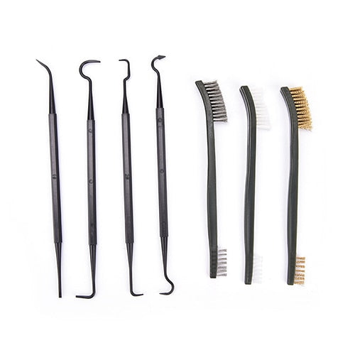 7 Piece Wire Brush and Pick Set Cleaning Kit