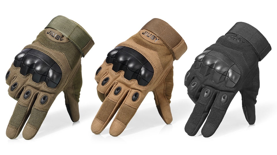 Tactical Hard Knuckle Combat Gloves
