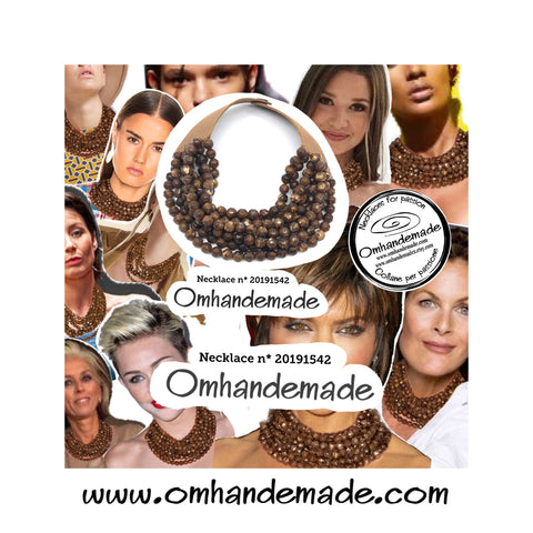 https://www.omhandemade.com/collections/shop/products/20191542-embossed-layered-choker-necklace-8wires-round-head-line-brown-imitation-tiger-eye-11-mm-leather-closure