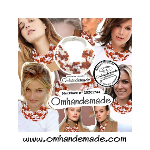 https://www.omhandemade.com/collections/shop/products/20201744-embossed-layered-choker-necklace-8wires-round-faceted-amber-brown-and-white-11-mm-leather-closure