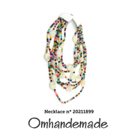 20211899 Collana lunga chanel colorata - Omhandemade