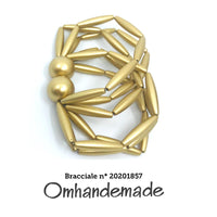 20201858 Fairchild Baldwin style necklace gold, layered multi-wire choker necklace relief, statement choker necklace, parure - Omhandemade