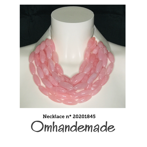 <transcy>20181304 Pink bib necklace</transcy>