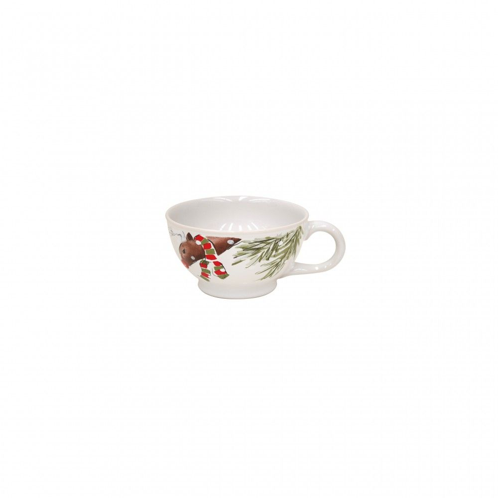 CASAFINA DEER FRIENDS SOUP MUG