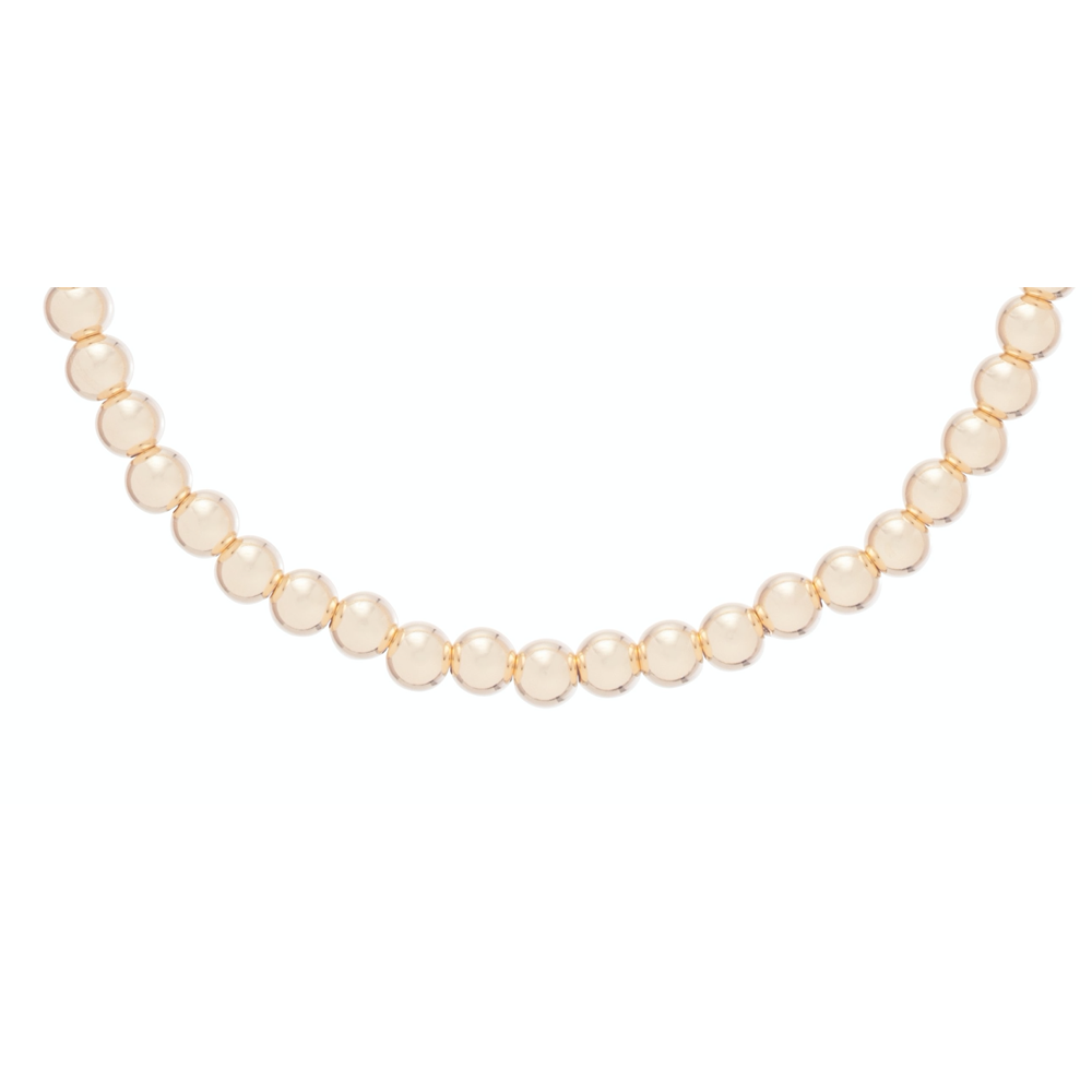 enewton Choker Classic Gold 4mm Bead